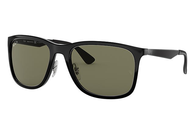 9ec2733e55a3 Rayban RB4313 Polarized Sunglass, Men's Fashion, Accessories ...