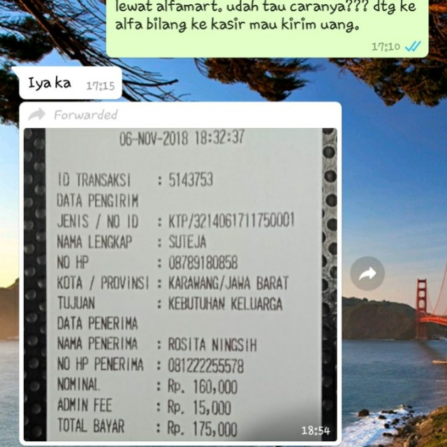 REAL TESTI BUKTI TRANSFER, Olshop Fashion, Olshop Wanita on