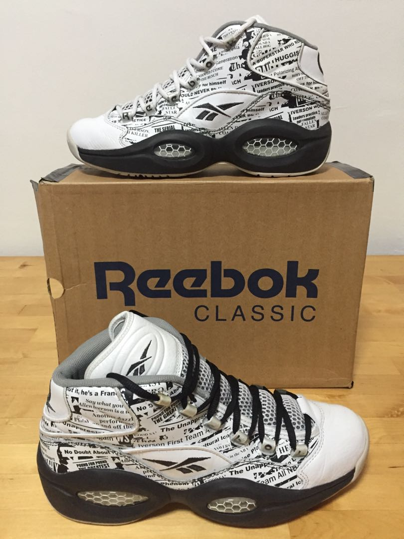 6357da15761 Reebok Question Mid Misunderstood NBA Allen Iverson