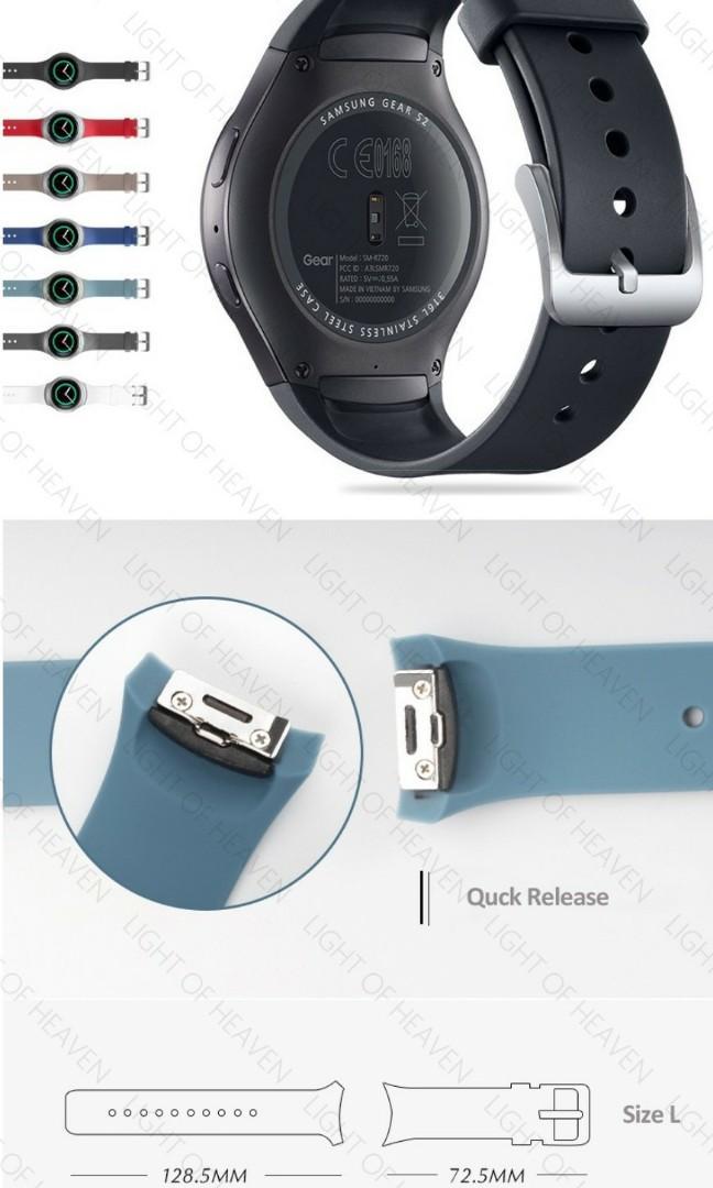 Samsung Gear S2 R720 watch strap