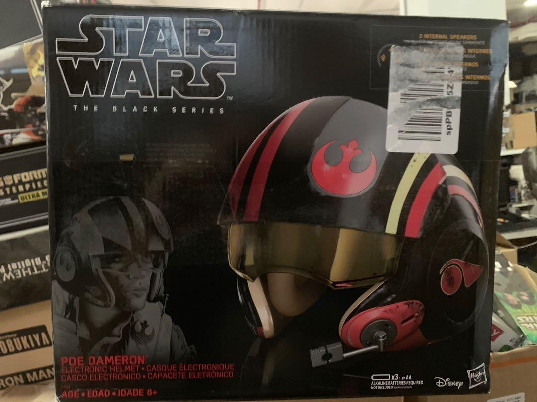 Star Wars black series Poe Dameron Electronic X-Wing Pilot