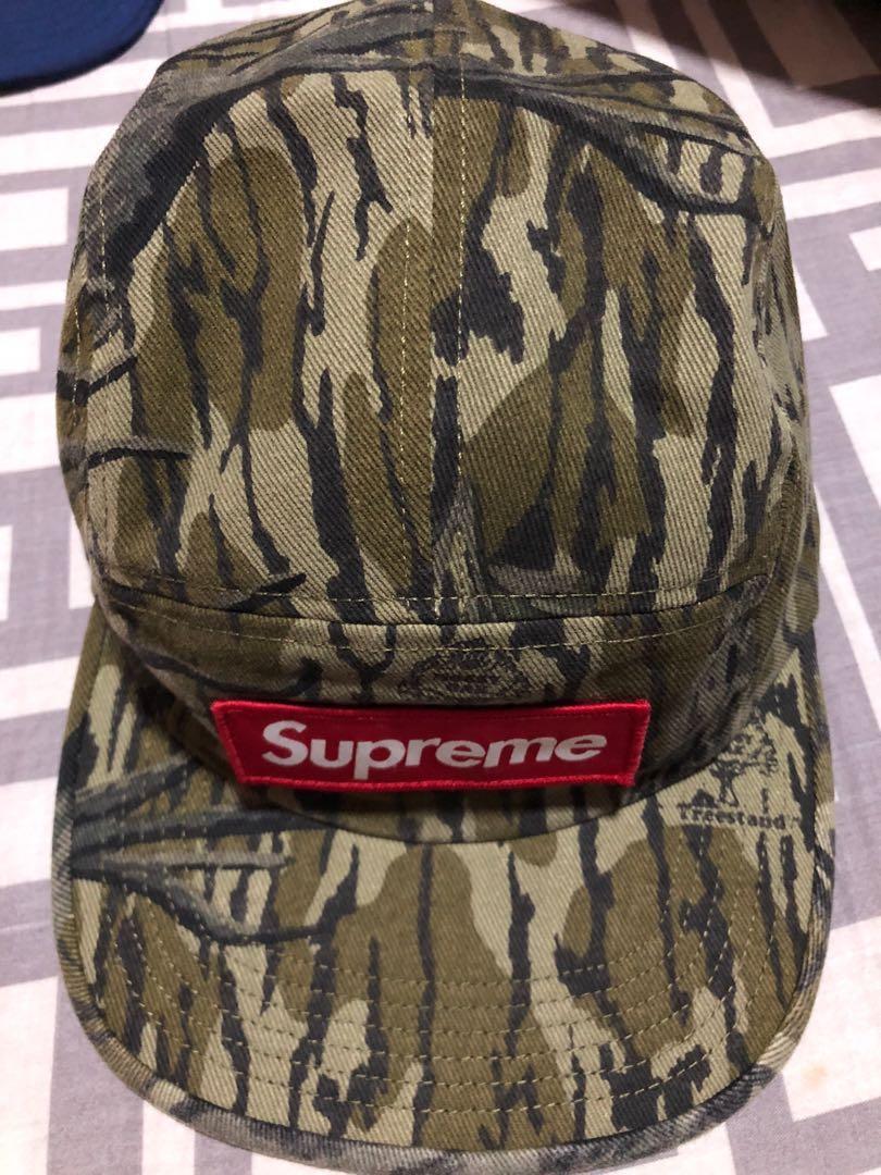 69f78a21 Supreme fw18 mossy oak military camp cap, Men's Fashion, Accessories ...