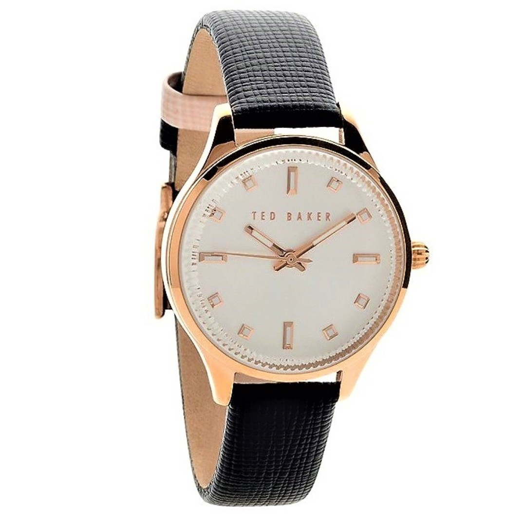 bb995c759 Ted Baker Ladies Zoe Saffiano Leather Strap Watch TE10030744 ...