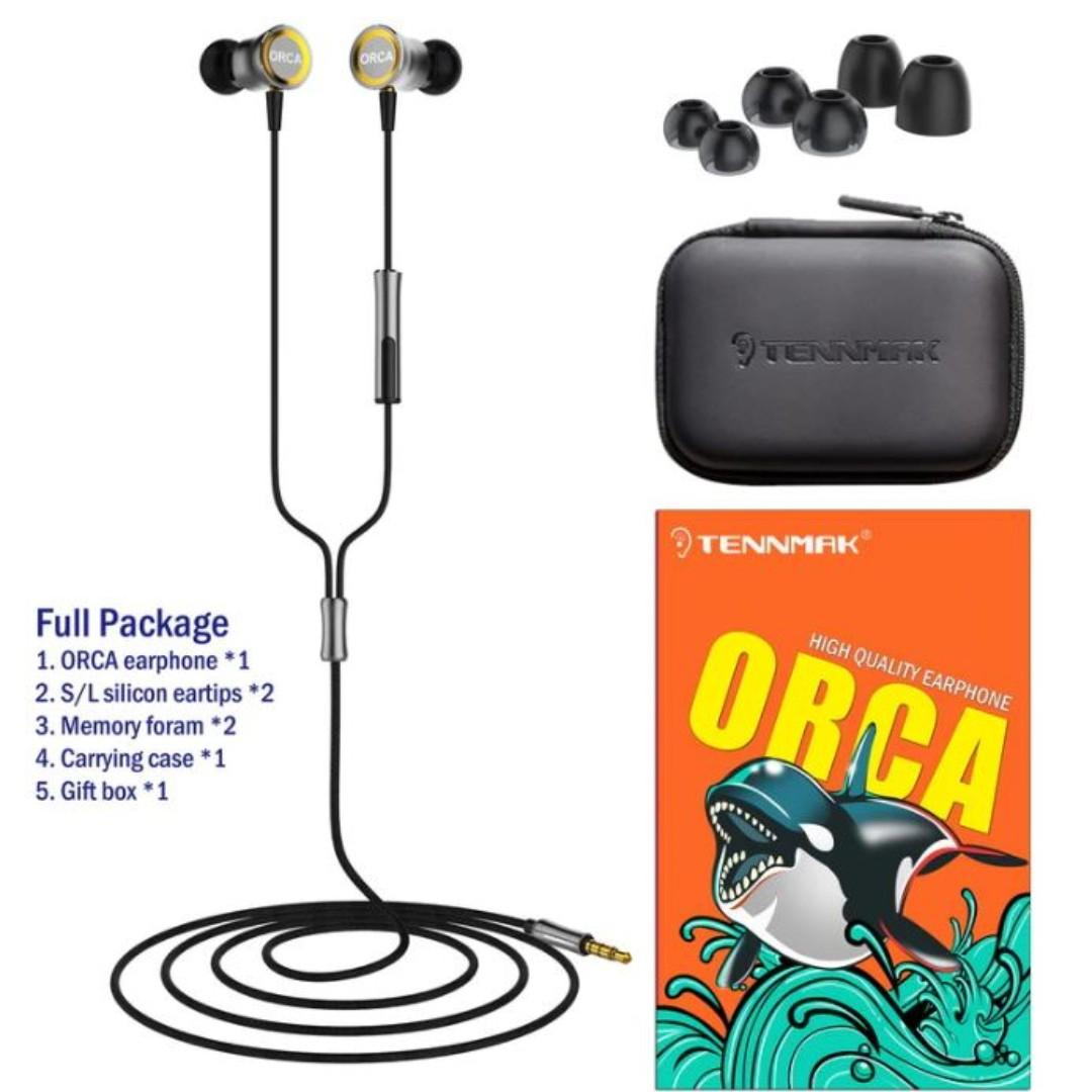 Tennmak Orca earpiece