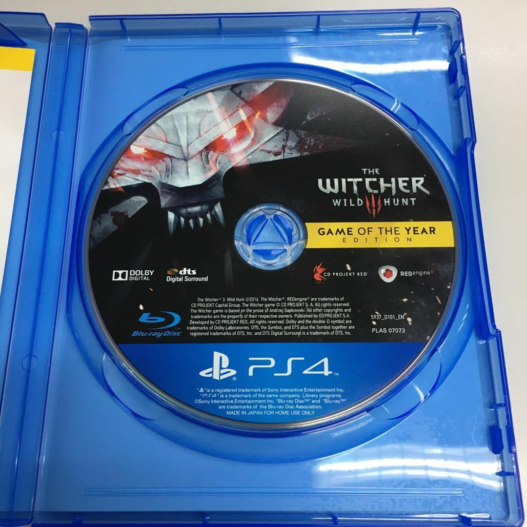 The Witcher 巫師3 Game of The Year 年度版