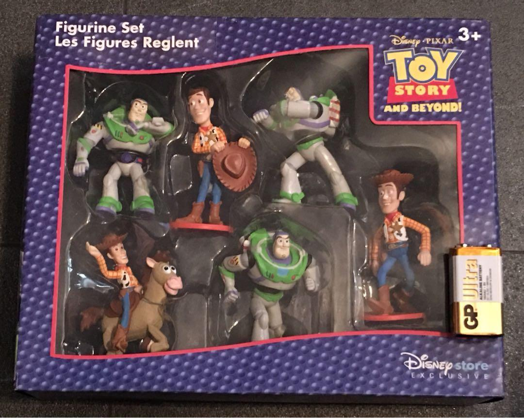 Toy story Disney Store Figure Box Set