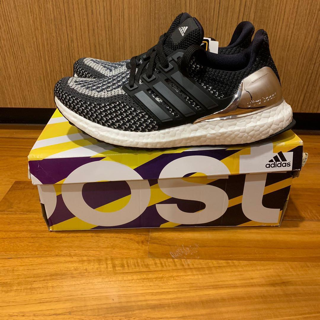 UK 4.5 Adidas Ultra Boost Silver Medal