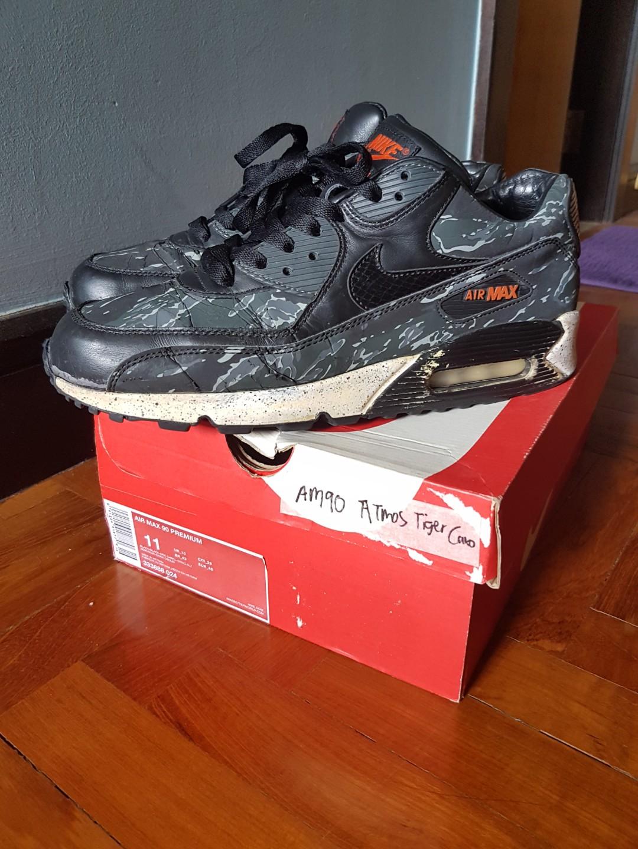 43df2ac495 US11- Nike Air Max 90 ATMOS TIGER CAMO. USED, Men's Fashion ...