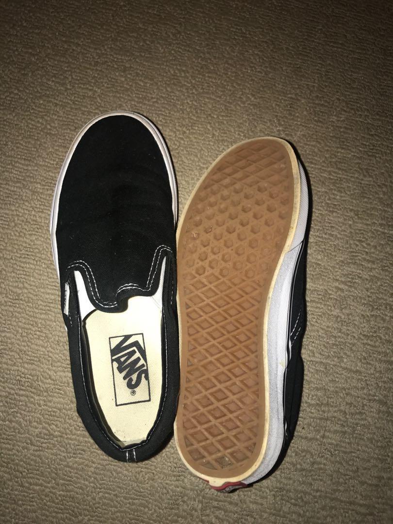 Vans classic slip on shoes women's