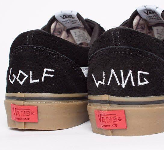 24d996160405 Vans x Golf Wang Syndicate Old Skool Pro Black Gum