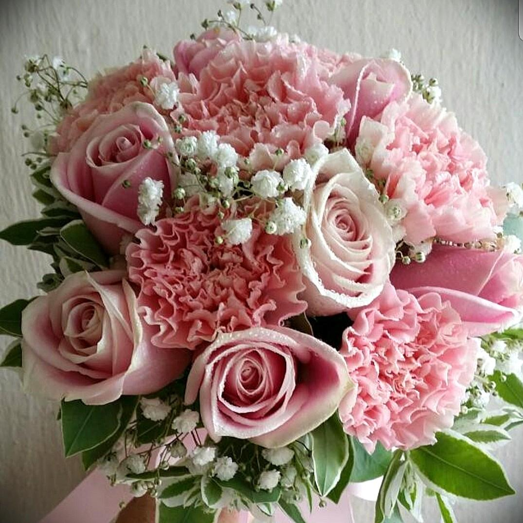 wedding flowers, bridal bouquet, gardening, flowers