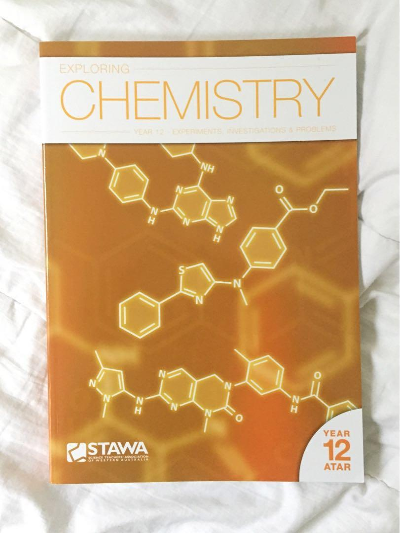 YEAR 12 CHEMISTRY TEXTBOOKS - Lucarelli, STAWA, Nelson