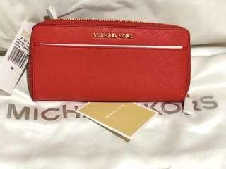 Authentic Michael Kors Jet Set Travel wallet