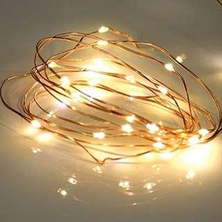 🚚 2meter Fairy Light copper wire battery operated