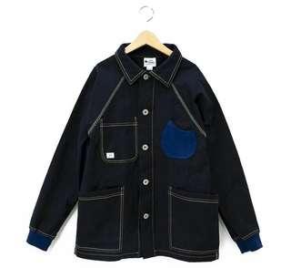 gum master 彈性PIQUE四口袋工作外套 日本品牌