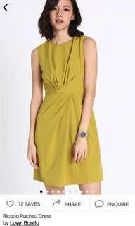 Love Bonito Ricoda Ruched Dress