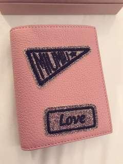 Miu miu 短銀包 粉紅色