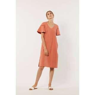 YACHT 21 Ulno Faux Suede Maxi in Coral