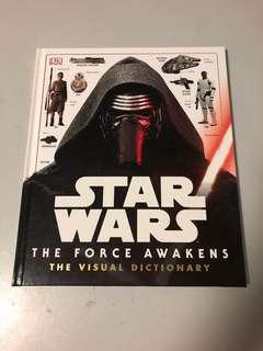 Star Wars force awakens visual dictionary DK books