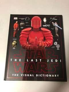 Star Wars Last Jedi visual dictionary DK books