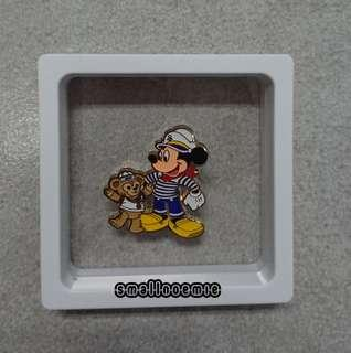 香港迪士尼Disney pin ~Duffy & Friends 罐仔pin (5)