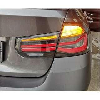 BMW 3Series F30 LCI M PERFORMANCE (Black line) Tail Lights