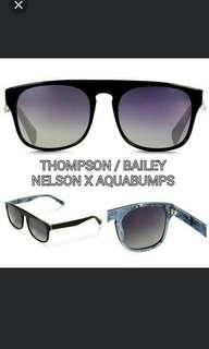 New Thompson/Bailey Nelson X Aqua Bumps Unisex Sunglasses
