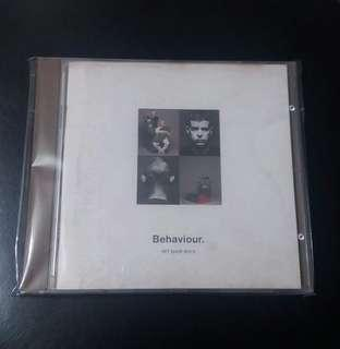 PET SH0P BOYS  1990年CD🍃(Behaviour)