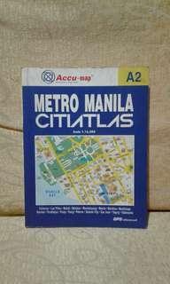 Atlas map metro manila