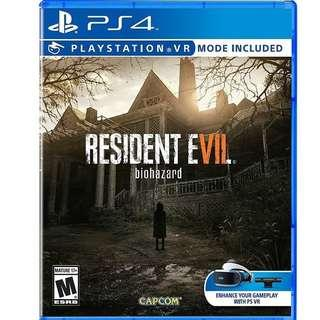 [New] Resident Evil 7 Cd Game