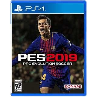[New] PES 2019 Cd Game