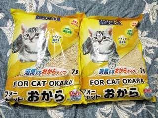 🚚 日本牌貓砂(7L*2)