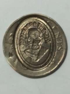 Old coin Thai Amulet LP Thuad