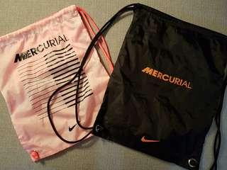 2 × 100% Authentic Nike Mecurial Bags 9/10