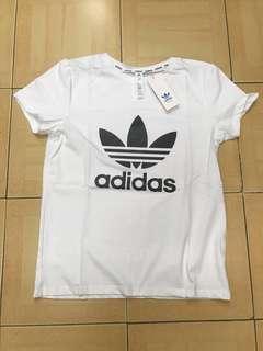 🚚 [全新]Adidas 女短T