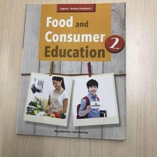 Food and consumer secondary two textbook