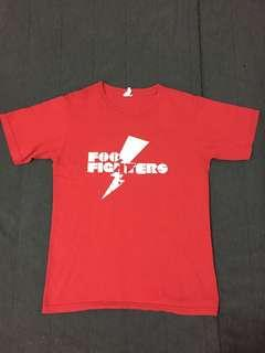 Foo fighters Band tshirt.