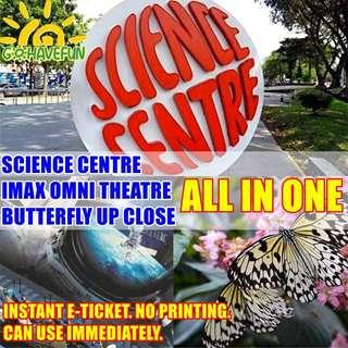 🚚 🔬Science Centre 3-IN-1 Combo Ticket🔬