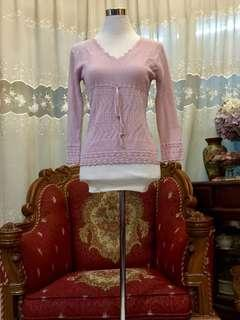 Ally Pink Knitted