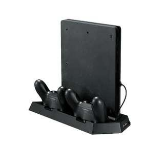 Ps4 Slim Vertical Cooling Stand with Charging
