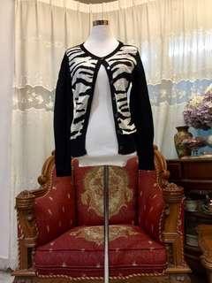 Kitschen Zebra Cardigan