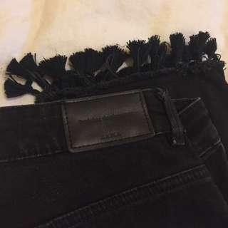 Zara tassle mum jeans