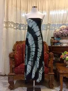 Dip Dye Long Dress