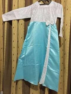 Dress Anak (white - Tosca)
