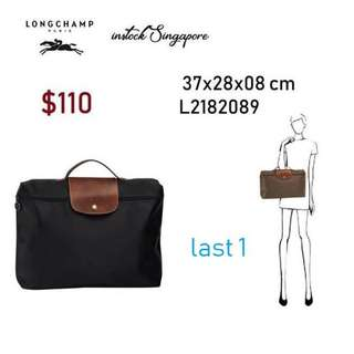 READY STOCK authentic new LONGCHAMP LE PLIAGE DOCUMENT holder fit a4 L2182 4022c6984be8f