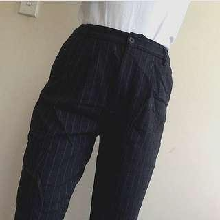 Pin Stripe Work Pants