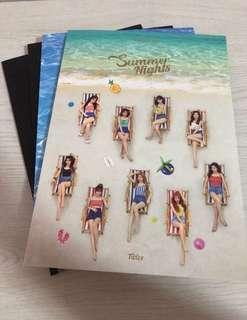 WTS Twice summer night unsealed album