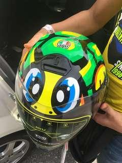 AGV Helmet sign by valentino rossi 2018