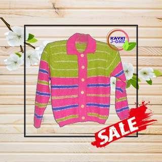 Sweater Rajut Anak Perempuan Baju Hangat