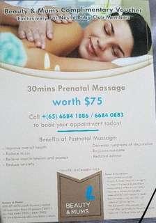 Beauty and Mums Prenatal Massage